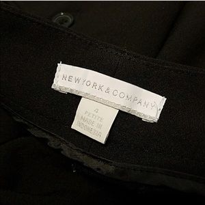 New York & company 4 petite black slacks two pairs